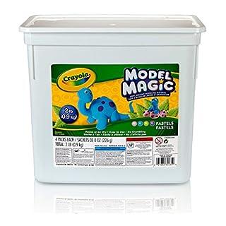 Crayola-23-2235 Model Magic, Pastel Colors, Modeling Clay Alternative, 2 lb. Bucket