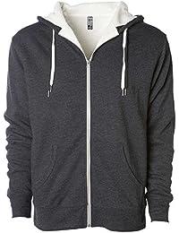Global Heavyweight Sherpa Lined Zip Up Fleece Hoodie Jacket for Men and  Women f01ceb80cd