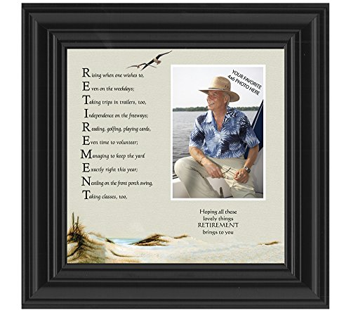 Retirement, Personalized Gifts for Men and Women Picture Frame, Retirement Gift Ideas, 10X10 6768B