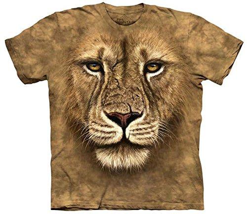 The Mountain Mens Lion Warrior T-Shirt