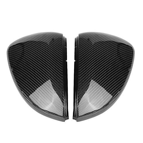 2 ST Achteruitkijkspiegel Cover Cap, vervanging Zijspiegel Cover Caps voor G-O-L-F MK7 / GTI/R 13-18 Auto Spiegel Cover…