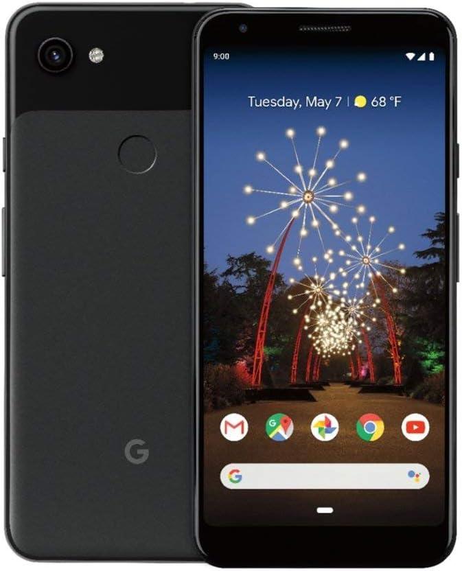 Google Pixel 3a XL Verizon Just Black, 64GB