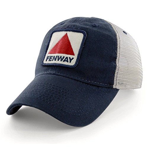 (Chowdaheadz Fenway Patch Townie Mesh Trucker Navy Hat)