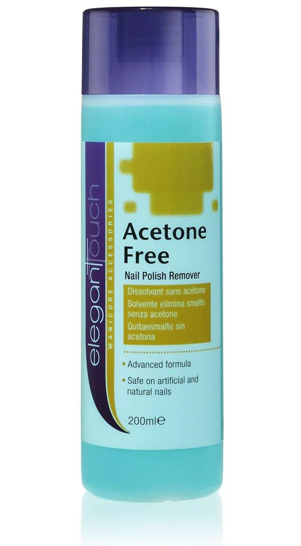 Elegant Touch Nail Polish Remover - Acetone Free 200ml: Amazon.co.uk ...