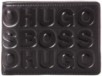 BOSS Hugo Boss Men's Serlet Wallet, Black, One Size