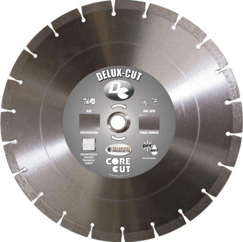 Diamond Products Core Cut Diamond Product 20875 Delux-Cut Segmented Dry Walk Behind Diamond Blade 14 x .125 x 1