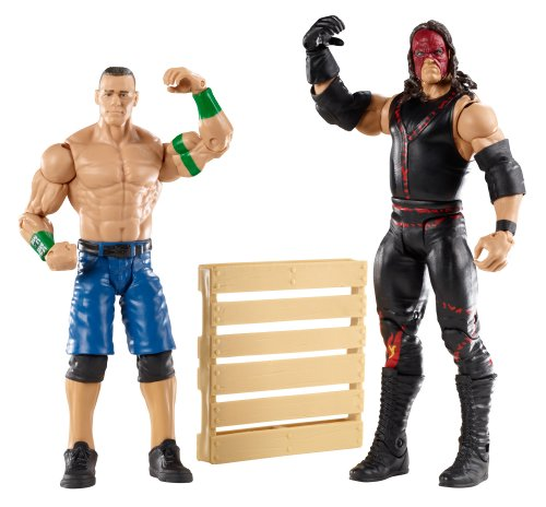 WWE Series 19 Battle Pack: John Cena vs. Kane Figure, 2-Pack