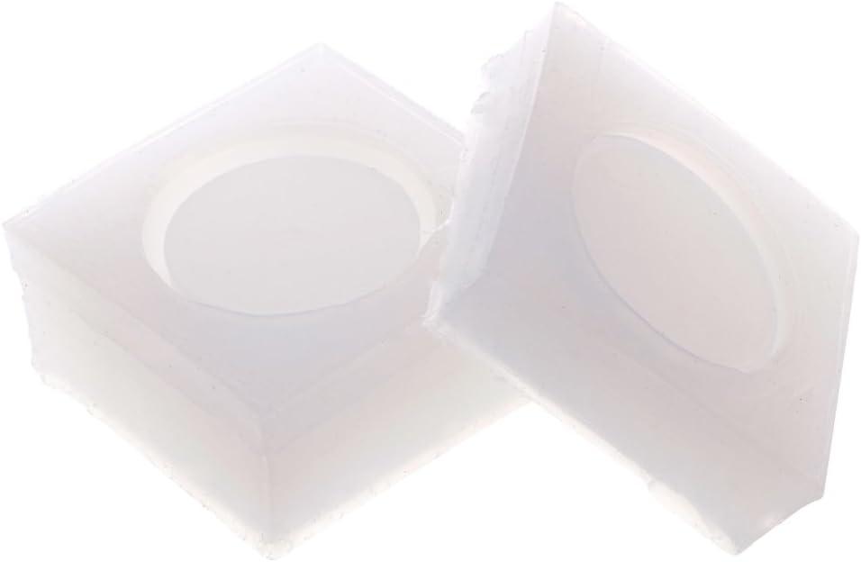 Xiangrun Moulle Bijoux Epoxy,Moulle Bijoux Resine Epoxy DIY Pendentif Bijoux Loisirs Cr/éatifs Moules 3D Moule Epoxy pour Petite Bo/îte De Rangement Ronde