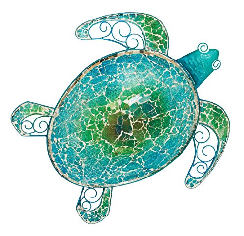 Turtle Lacquer (Regal Art & Gift Mosaic Sea Turtle Wall Decor 18