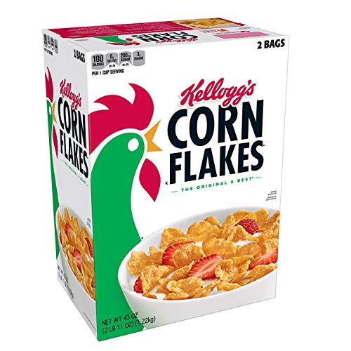 Kellogg's Corn Flakes, 43-Ounce Unit by Kellogg's