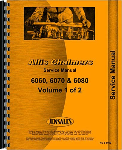 Download Allis Chalmers 6070 Tractor Service Manual PDF