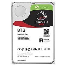 Seagate 8TB IronWolf Pro 7200RPM SATA 6Gb/s 256MB Cache 3.5-Inch NAS Hard Disk Drive (ST8000NE0004)