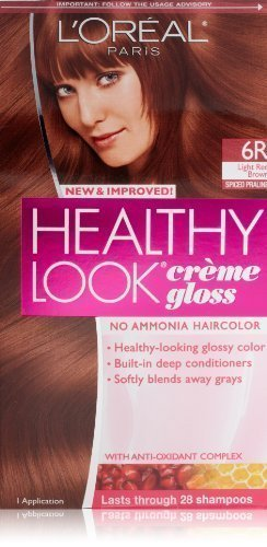 LOreal Paris Healthy Look Hair Color, 6R Light Red Brown/Spiced Praline by LOreal Paris Hair Color [Beauty]