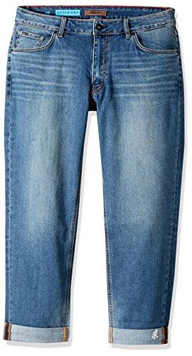 Gramicci Women's Live Free Boyfriend Jean, Vintage Wash, Size 31 x 4 (Gramicci Pants Women)