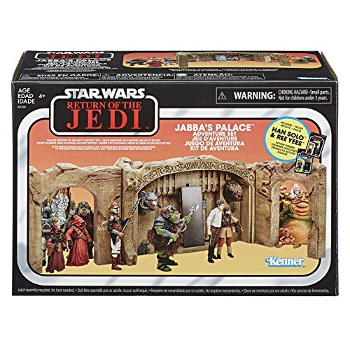 Star Wars Exclusive The Vintage Collection: Episode VI Return of The Jedi Jabba's Palace Adventure Set Playset ()