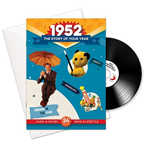 Price comparison product image 1952 Birthday or Anniversary Gifts - 1952 4-In-1 Card and Gift - Story of Your Year , CD , Music Download