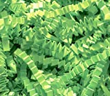 Arts & Crafts : 1/2 LB Crinkle Cut Paper Shred - Lime