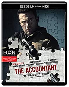 Accountant, The (UHD/BD) (4K Ultra HD)