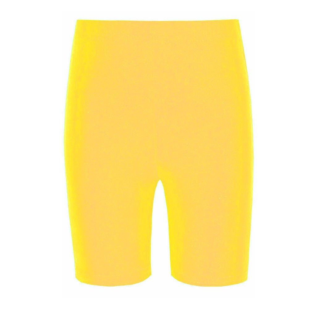 New Only Uniform Childrens School PE Gym Class Lycra Short Kids Cycling Shorts