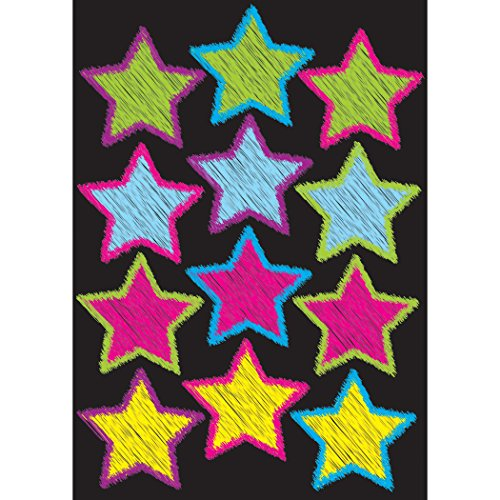 Ashley Productions Scribble Stars Die-Cut Magnet (Scribble Stars)
