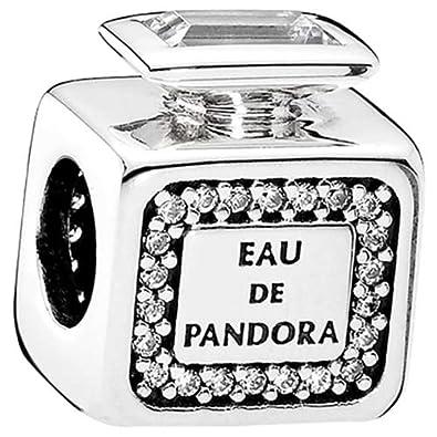 e3b35b46f Pandora Women's Signature Scent Charm - 925 Sterling Silver, 791889CZ