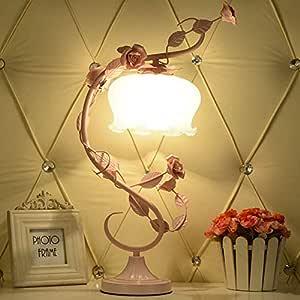 CL-C Lámpara de Mesa Dormitorio de Estilo Europeo Lámparas ...
