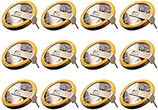 12 Pack CR1616, CR1616 with Tabs Replacement Save for Gameboy Color and Gameboy Advance Games - Individually Package