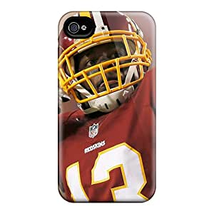 Iphone High Quality Tpu Case/ Washington Redskins SfK3325sTDi Case Cover For Iphone 4/4s