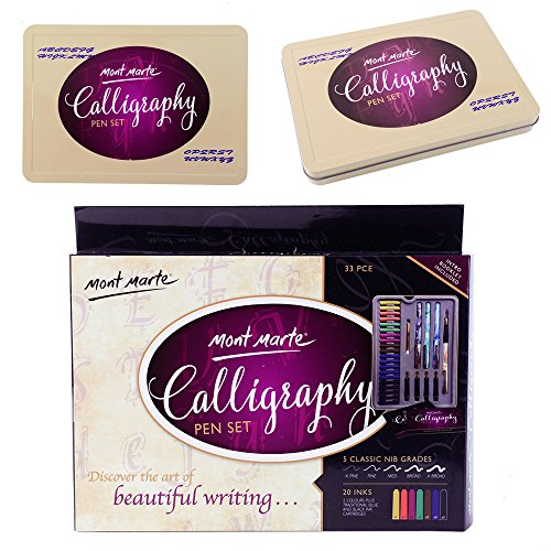 Mont-Marte-Calligraphy-Pen-Set-33-Pieces