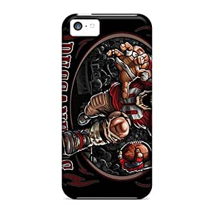 Protective Tpu Case With Fashion Design For Iphone 5c (tampa Bay Buccaneers)