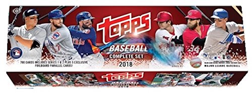 Topps 2018 Baseball Retail Edition Complete 705 Card Factory Set - Baseball Complete (Topps Baseball Set)