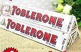 toblerone chocolates - Toblerone White Chocolate 100g Pack of 4
