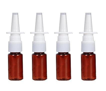 6 botellas de plástico – spray nasal – Rociador de nebelsprüher rellenable para maquillaje y cosméticos