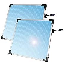 Sunforce 52107  7 Watt Solar Battery Trickle Charger - 2 PACK