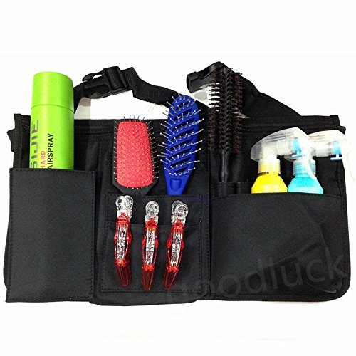 Professional Salon Hairdressing Scissors Tool Holder Waist Belt Styler Pouch Bag