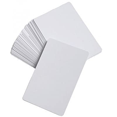 Amazing Child 200 Glossy Blank Cards _ Wipeable Premium Quality Cards: Toys & Games
