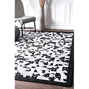 Amazon Com Nuloom Brvr03a Niesha Abstract Tiles Area Rug