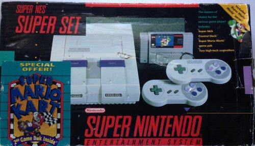 Super Nintendo Super Set Special Mario Kart (Mario Kart Super Nintendo)
