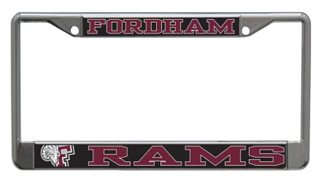 Wincraft Fordham University Rams Metal License Plate Frame 2 Mount Holes