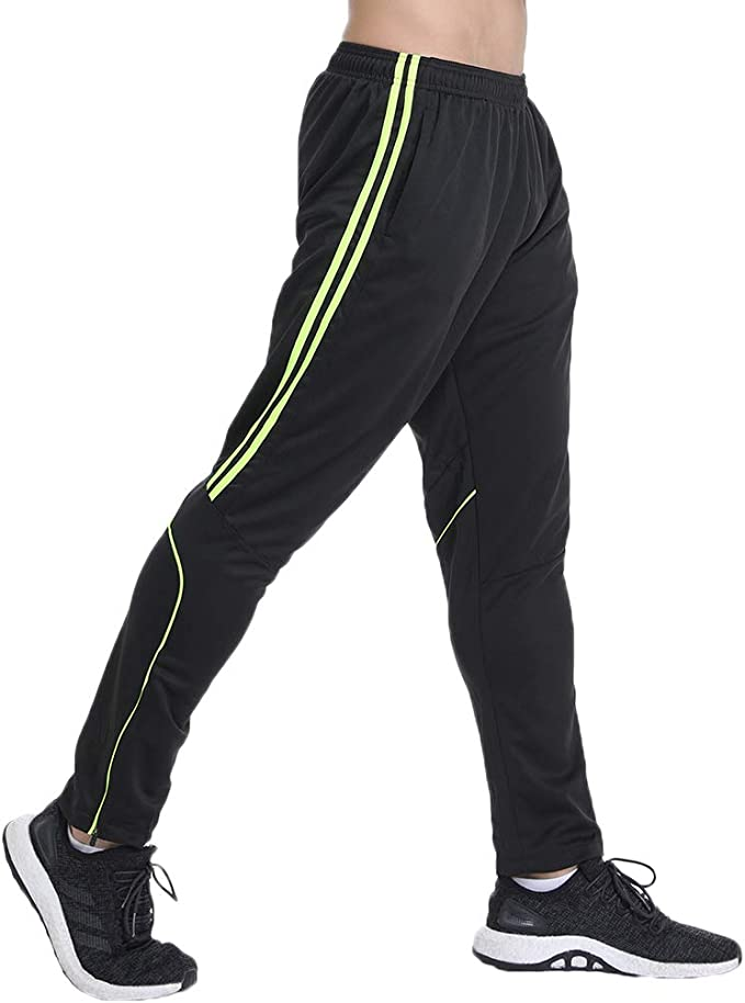 Mens Skinny Stripe Jogging Athletic Games Running Tapered Fit Sports PE Bottoms