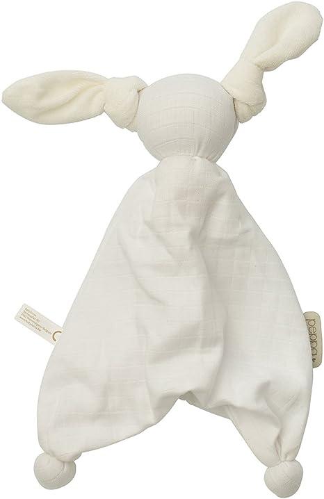 Babylonia Peppa Doudou (algodón orgánico extra suave color blanco: Amazon.es: Bebé