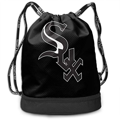 Gymsack White Sox Parody Print Drawstring Bags - Simple Gym Shoulder Bags