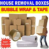 PPD New 20 X Large Cardboard House Moving Boxes - Removal Packing Box