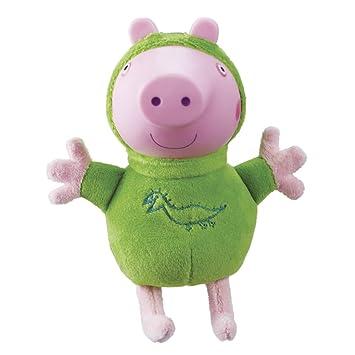 Amazon.es: Peppa Pig - Peluches con luz Glow Friends George (Bandai 06917): Juguetes y juegos