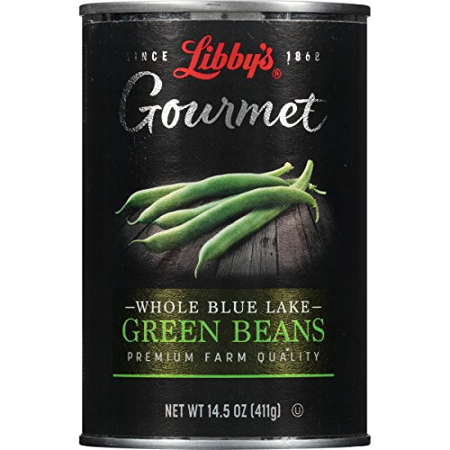 Libby's Gourmet, Whole Green Beans Cans, 14.5 Ounce (Pack of 12)(Packaging may vary)