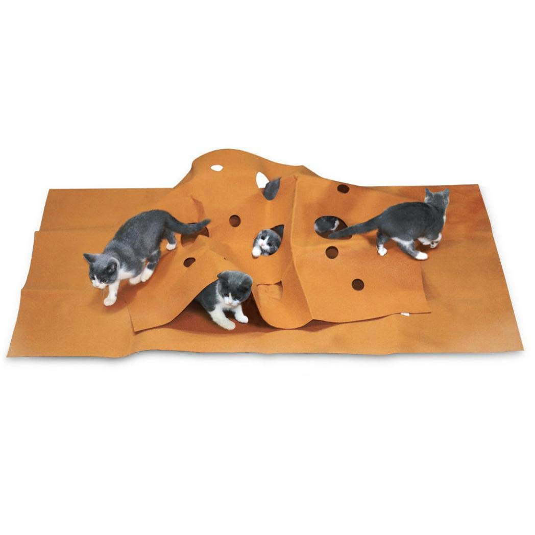 Amazon.com: TeDUnaxxme Felt Cat Activity Play Mat ...