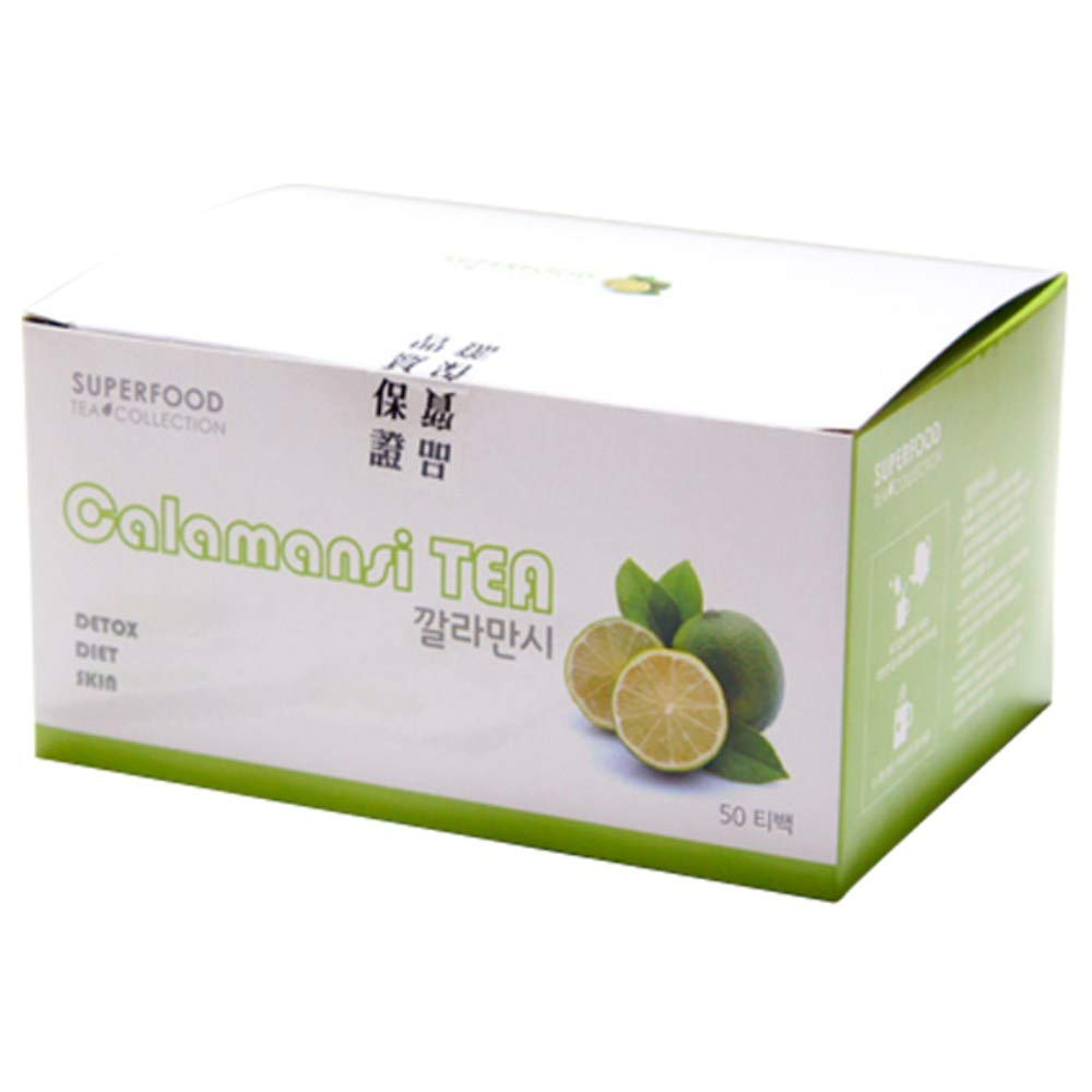 Gomine Calamansi Tea Bags, 50 EA, Super Food, From the Nature, Containing Rich Vitamins, Everyday Tea 깔라만시
