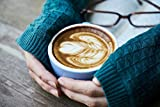LAMINATED 36x24 inches POSTER: Coffee Drink Caffeine Breakfast Photo Photography Wake Close-Up Restaurant Table Background Food Cafe Beverage Latte Macro Food Photo Cappuccino Cup Good Morning