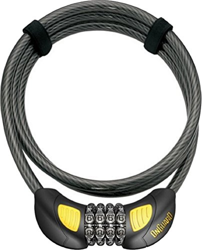 ONGUARD Terrier Combo GLO Bike Cable Lock - - Onguard Combo