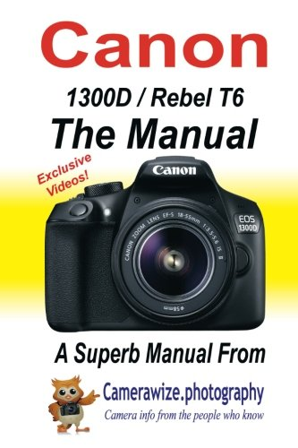 51yiDDqzS7L - Canon Rebel T6 (1300D) Review